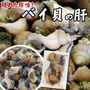 珍味 赤バイ肝(ボイル済)(冷凍)約150g(浜坂産)酒のあてに、一品に(バイ貝)|matubagani