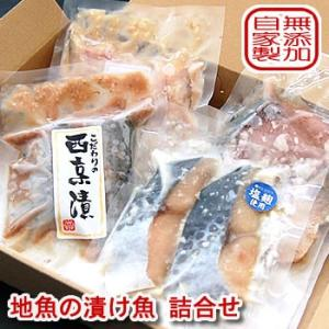 (送料無料)地魚の漬け魚詰合せ(冷凍)塩麹漬けと西京漬けの詰合せセットです 国産(山陰浜坂産)(無添加)|matubagani