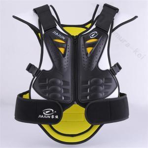 バイク用インナージャケット 胸部 背中 転倒防護 チェストガード オフロードツーリング プロテクター...