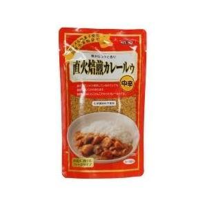直火焙煎カレールゥ・中辛 (ムソー) コクがあってまろやか 胃もたれ胸やけしないと好評 170g