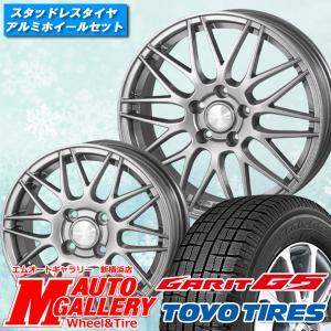 215/60R16インチ トーヨー ガリット TOYO GARIT G5 5H114 ヒューマンライン HM02 スタッドレスタイヤホイール4本セット|mauto
