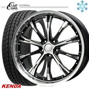 225/45R18インチ ケンダ KENDA KR36 5H114 クリフクライム TC02 スタッドレスタイヤホイール4本セット|mauto