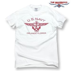 Tシャツ ロゴT メンズ ミリタリー 半袖 US NAVY ...