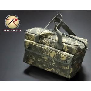 メカニック ツールバッグ メンズ 浅 工具バッグ 工具箱 ROTHCO ロスコ / ACUカモフラー...