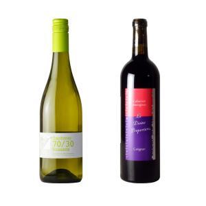オーガニックワイン 飲みやすい人気南仏ワイン赤白セット...