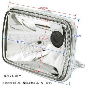 バイク マルチリフレクター ヘッドライト H4 HID対応 カワサキ ZRX400 GPZ750R GPZ900R Z1000R GPz1100F (ZX1100A) Z1100GP ZRX1100 ZRX1200R Z1300 max-advancer 07