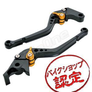ビレット レバー セット R-タイプ 黒/金 ブラック ゴールド スティード400 VT250F CB400SS CB400SF スティード600 ホーネット900 ブレーキ クラッチ|max-advancer