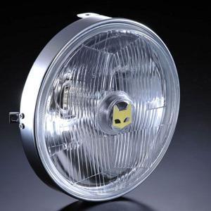マーシャル ヘッドライト 889 汎用 ライトユニット クリア バイク CB400SF VTR250 ホーネット250 JADE ZRX2 ゼファー400 ゼファー750RS Z1 Z2 Z400FX XJ400D max-advancer