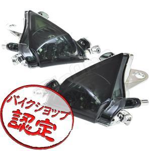 バイク LED ウインカー ZX-10R リボルバー スモーク タイプ Ninja ZX-10RZXT00C|max-advancer