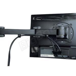 液晶モニターアーム 4モニター ディスプレイスタンド 4画面 16軸式モデル 13〜27インチ対応 スタンド PCモニターアーム 高剛性|max-advancer|05