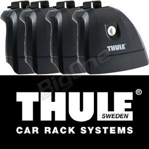 THULE スーリー ラピッドシステムフィックスポイント TH751 スクエアバー アルミエアロバーに装着可能 ベースキャリア ルーフキャリア max-advancer