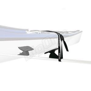 THULE スーリー ハイドログライド Hydroglide TH873カヤックキャリア カギ付きストラップ付属 2×2.75m スクエアバー アルミエアロバー ウィングバーに装着可能|max-advancer