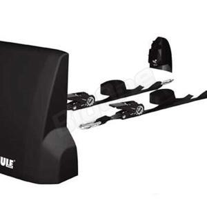 THULE スーリー フロント ロードストップ Front Load Stop TH321 33cmx20cm強化プラスチック製部品とタイダウンベルト2本付 パイプなどの長尺物の積載に|max-advancer