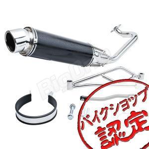 ズーマーX ZOOMER-X カーボン マフラー フルエキゾーストEBL-JF52 サイレンサー バイク用|max-advancer