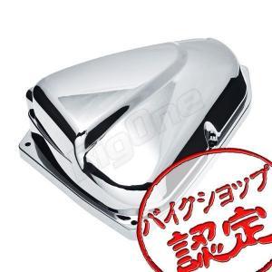 ZOOMER-X ズーマーX JF52 エアクリーナー カバー クローム メッキ バイク用|max-advancer