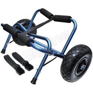 カヤックカート カヌーカート レギュラー フラットフリータイヤ ノーパンクタイヤ カヤック用品|max-advancer