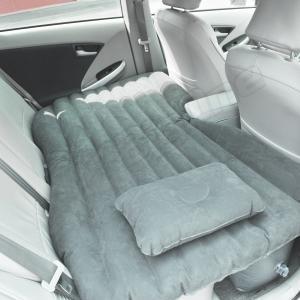 車用ベッド 後部座席が快適ベットに 電動ポンプ付きインフレータブルベッド 電動ポンプで簡単施工 アウトドア キャンプ 車中泊 簡易型|max-advancer
