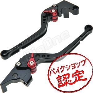 ビレット レバー セット R-タイプ 黒/赤 ブラック レッド MT-07 MT-09 FZ6-N ...