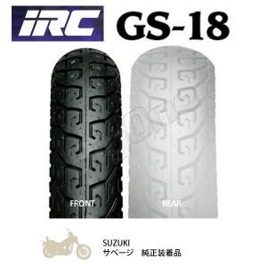 タイヤ IRC GS-18 100/90-19 M/C 57H WT フロントタイヤ 100-90-19 前輪 チューブタイプ GS18