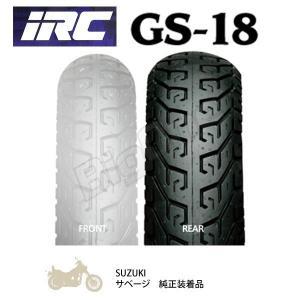 タイヤ IRC GS-18 140/80-15 M/C 67H WT リアタイヤ 140-80-15 後輪 チューブタイプ GS18