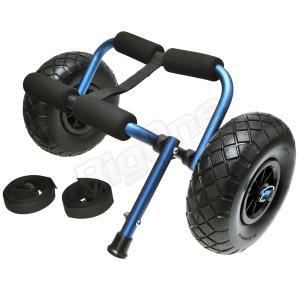 カヤックカート カヌーカート ミニ フラットフリータイヤ ノーパンクタイヤ カヤック用品|max-advancer