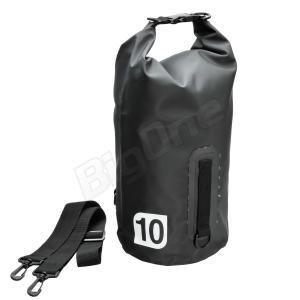 防水バッグ X-EUROPE レイン バッグ 10L BLACK ブラック 黒 EG-6002 高さΦ19cm×高さ49cm ツーリング 通学 通勤 旅行 梅雨 防雨対策 バイク用品|max-advancer
