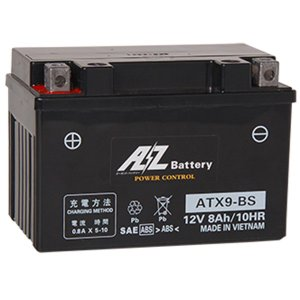 AZ バッテリー ATX9-BS 液入充電済 互換品番 FTX9-BS RBTX9-BS YTX9-BS GTX9-BS DYTX9-BS 二輪 オートバイ バイク|max-advancer