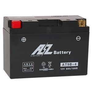 AZ バッテリー AT9B-4 液入充電済 互換品番 FT9B-4 RBT9B-4 GT9B-4 YT9B-4 二輪 オートバイ バイク|max-advancer