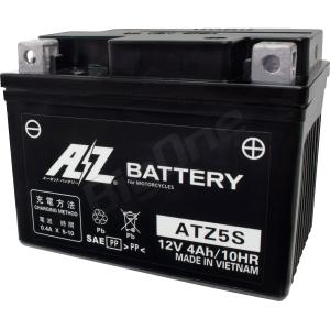 AZ バッテリー ATZ5S 液入充電済 互換品番 YTZ5S GTZ5S 二輪 オートバイ バイク|max-advancer