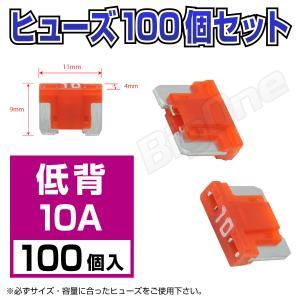 低背平型ヒューズ 10A ASM 100個セット 低背タイプ|max-advancer