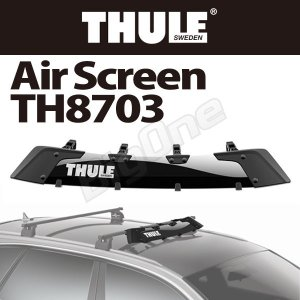 THULE エアスクリーン TH8703 132cm Air Screen ウイングバー スクエアバー 取り付け 対応|max-advancer