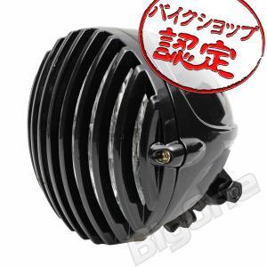 バイク バードケージ ヘッドライト 4.5インチ ベーツ ブラック 黒 チョッパー ボバー バードゲージ ドラッグスター400 エストレヤ 250TR W400 ハーレー FXS FXDB max-advancer