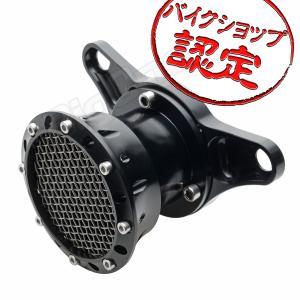 XL883 XL1200 スポーツスター エアクリーナー キット メッシュ タイプ ブラック 黒 ファンネル ハーレー エアー フィルター ハイフロー max-advancer