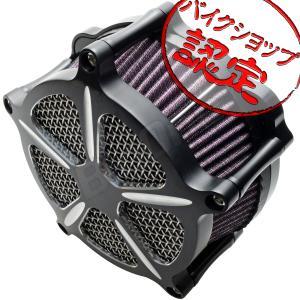 XL883 XL1200 スポーツスター エアクリーナー キット メッシュ タイプ ブラック 黒 ハーレー エアー フィルター ハイフロー max-advancer
