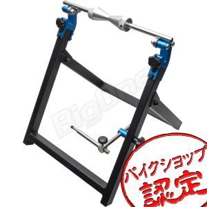 ホイールバランサー 折りたたみ式 スポーク張り 振れ取り 機能付き コンパクト バランス 調整 ジャイロ スタンド バイク タイヤ交換 max-advancer