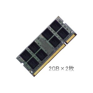 dynabook Qosmio FXW/GXWでの動作保証2GBメモリ2枚組|max-memory