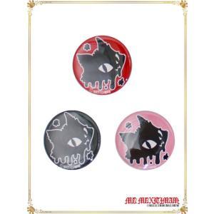 CAN942M ドロドロ ジュピリン缶バッチ(大) /猫、キャラクター、マキシマム maxicimam