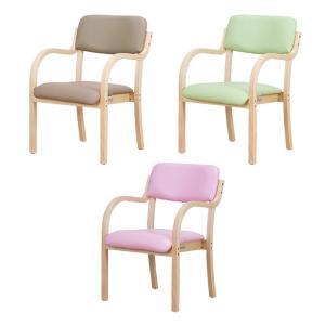 介護福祉チェア 肘付き 1脚 介護椅子 木製 ダイニングチェア 介護施設 デイサービス で人気 肘付き 施設 椅子 送料無料|maxlex|02