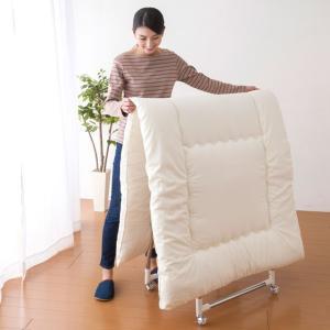 アレルゲン対策室内布団干しに!伸縮軽量ハンガーラック  掛けるものに合わせて伸縮でき、コンパクトに収...