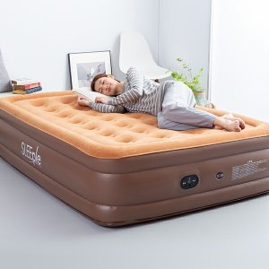 エアーベッド ダブル エアベッド電動 電動エアーベッド エアーマット 自動で膨らむ ポンプ内蔵電動ポンプ 厚さ46cm 簡易ベッド 来客用 送料無料|maxlex