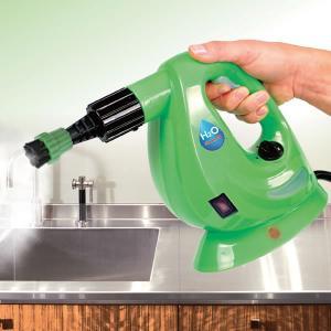 スチームクリーナー 8点デラックスセット H2O ハンディ 高圧洗浄器 高温 高圧 洗浄 キッチン ...