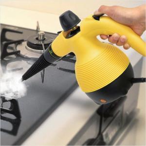 スチームジェットクリーナー ハンディ 強力スチームクリーナー 油汚れ キッチン 浴室  洗剤不要 高...