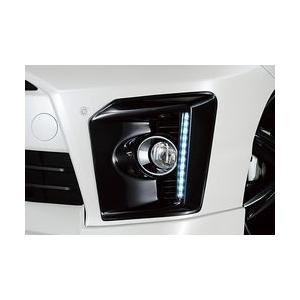 G-コーポレーション フォグランプ・ガーニッシュ(LEDデイライト付・ABS製)ガンメタリック2(GM2)塗装仕様 for VELLFIRE|maxprice
