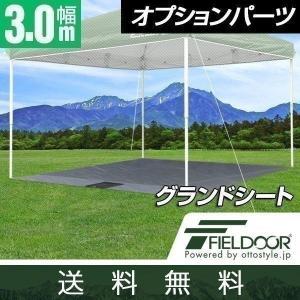 テント タープテント ワンタッチテント サンシェード 3×3m用グランドシート 送料無料|maxshare