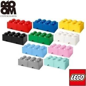 レゴ ブロック 収納 ケース ボックス 引き出し ストレージボックス ブリック ドロワー8 50 x 25 x 18cm おもちゃ収納 おもちゃ箱 LEGO 積み重ね 送料無料|maxshare