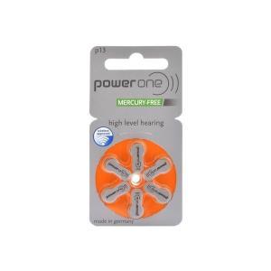 補聴器 電池 powerone パワーワン PR48 (13) 1パック|maxtool