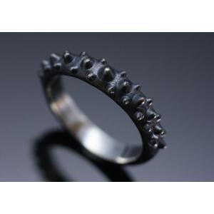 龍頭[りゅうず] 霰リング/指輪/R-93/和柄シルバーアクセサリー/送料無料|mayakasai
