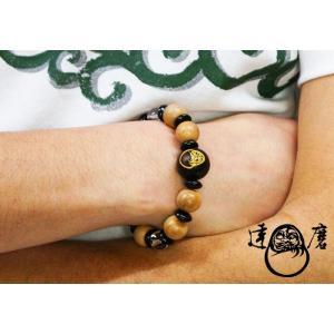 達磨[だるま] 桜 腕輪念珠 和柄ブレスレット/日本製/数珠/DAJ0003-25|mayakasai