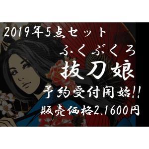 【予約販売】 抜刀娘 5点セット 和柄 福袋/b2019|mayakasai