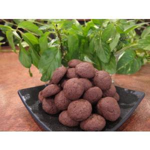 【ちよこまる(チョコミント)】(6個入り)自家栽培・無農薬のミントを入れたチョコのスノーボールクッキー、卵不使用|mayfair-net